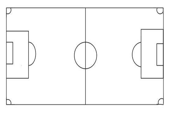 picture regarding Printable Soccer Field Diagram called Doing exercises Refreshing Football Referees